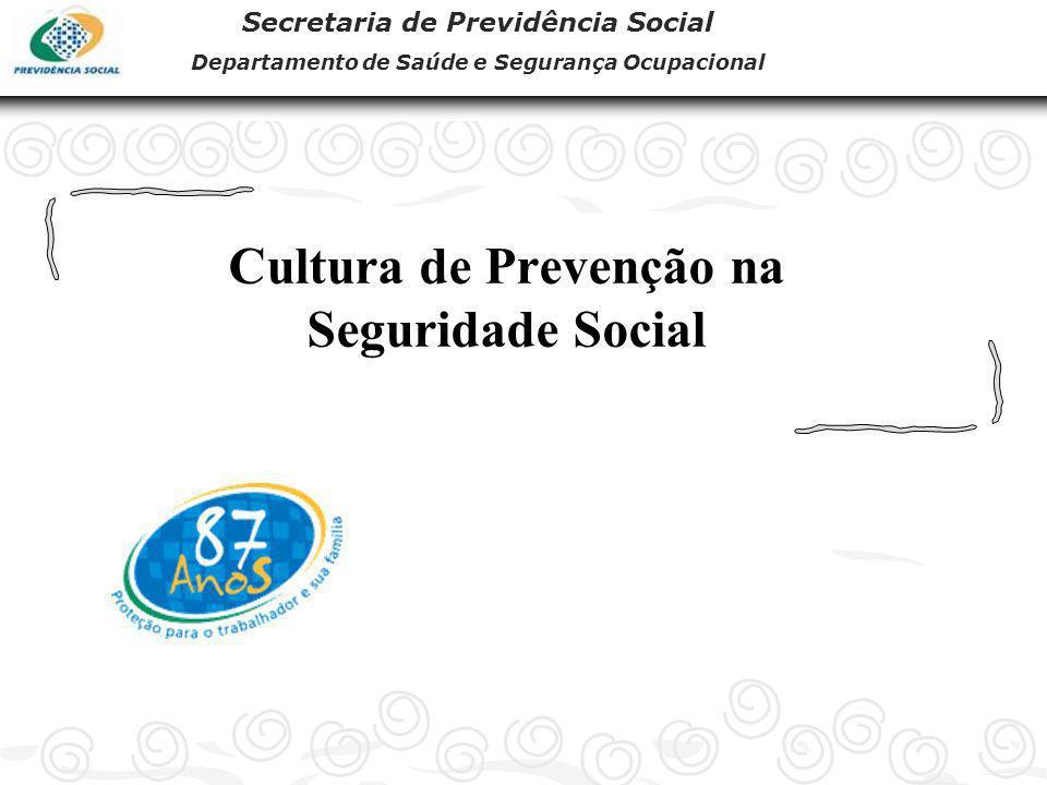 Cultura de Prevenção na Seguridade Social
