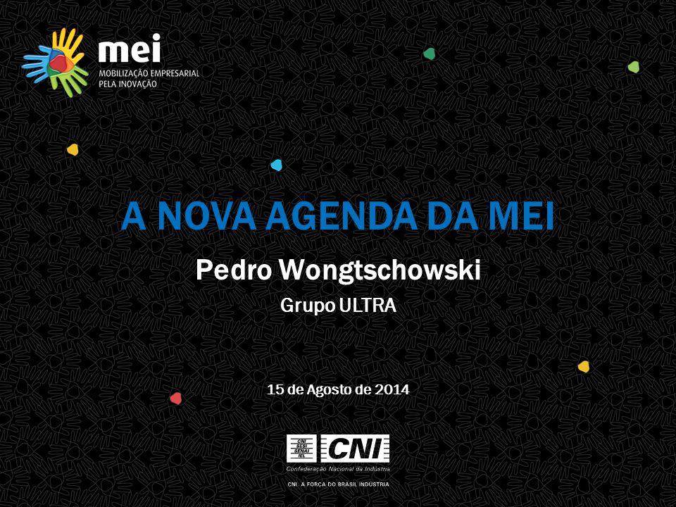 A NOVA AGENDA DA MEI Pedro Wongtschowski 15 de Agosto de 2014