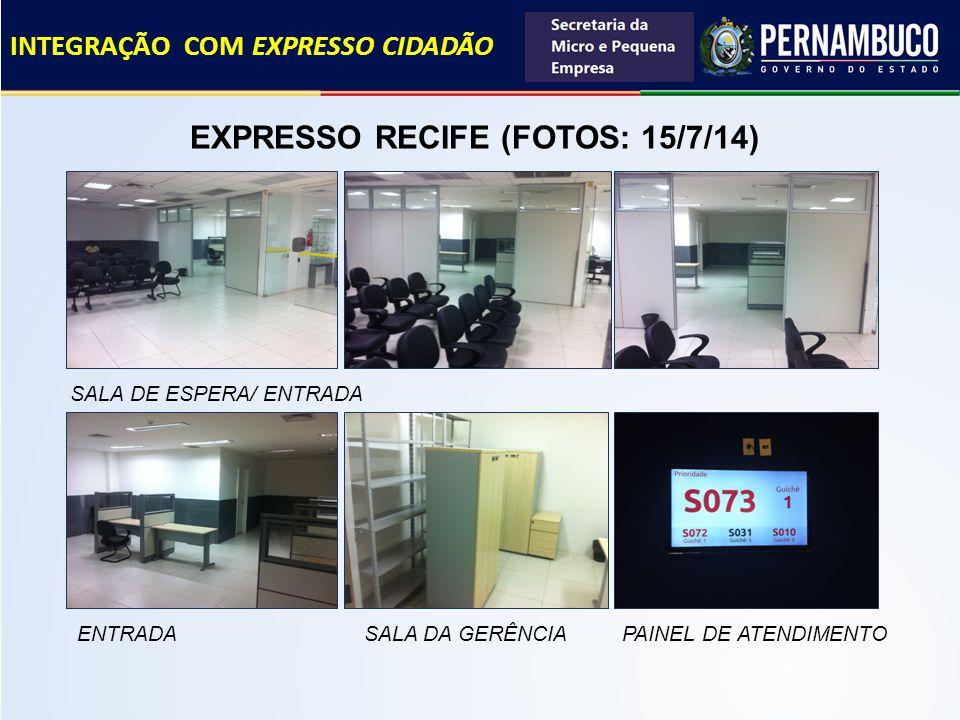 EXPRESSO RECIFE (FOTOS: 15/7/14)