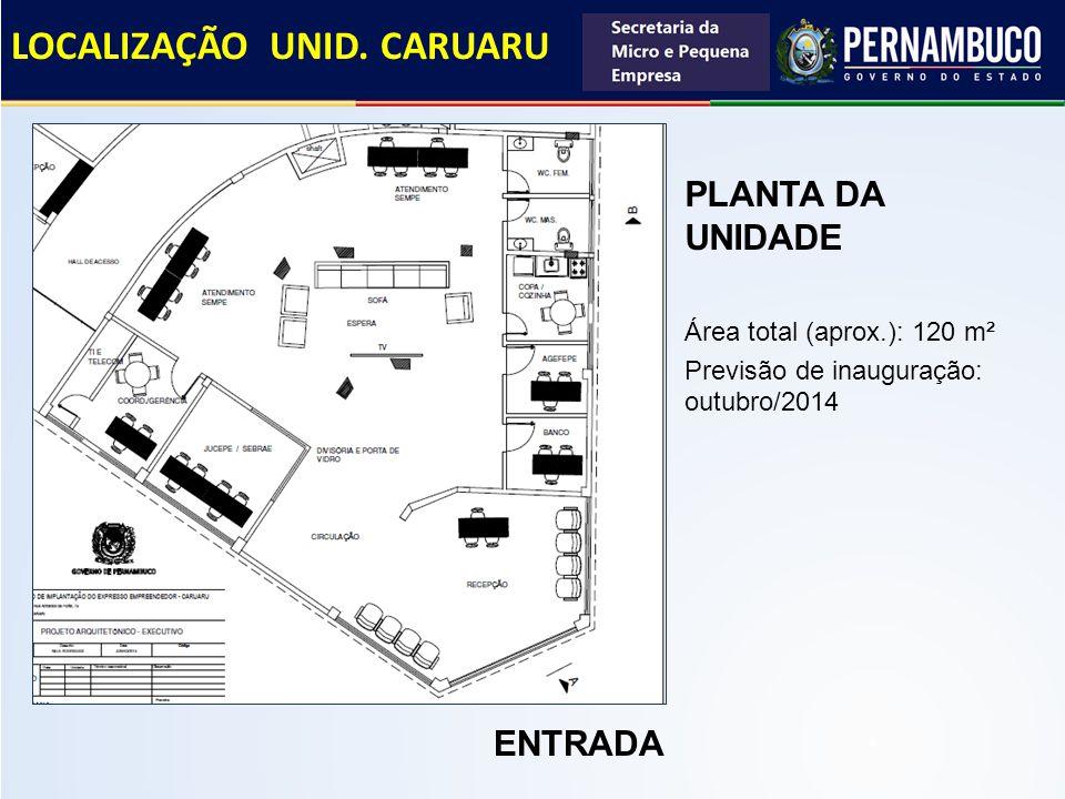 LOCALIZAÇÃO UNID. CARUARU