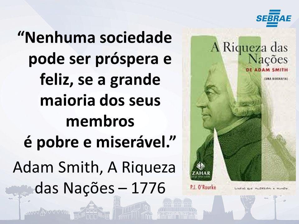 Adam Smith, A Riqueza das Nações – 1776