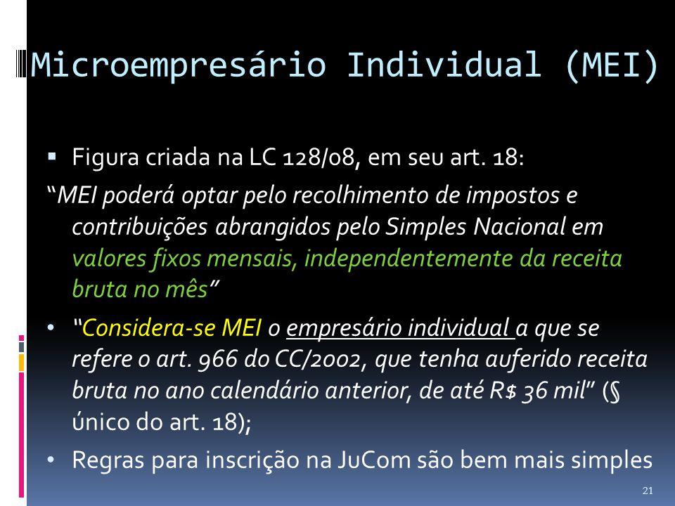 Microempresário Individual (MEI)