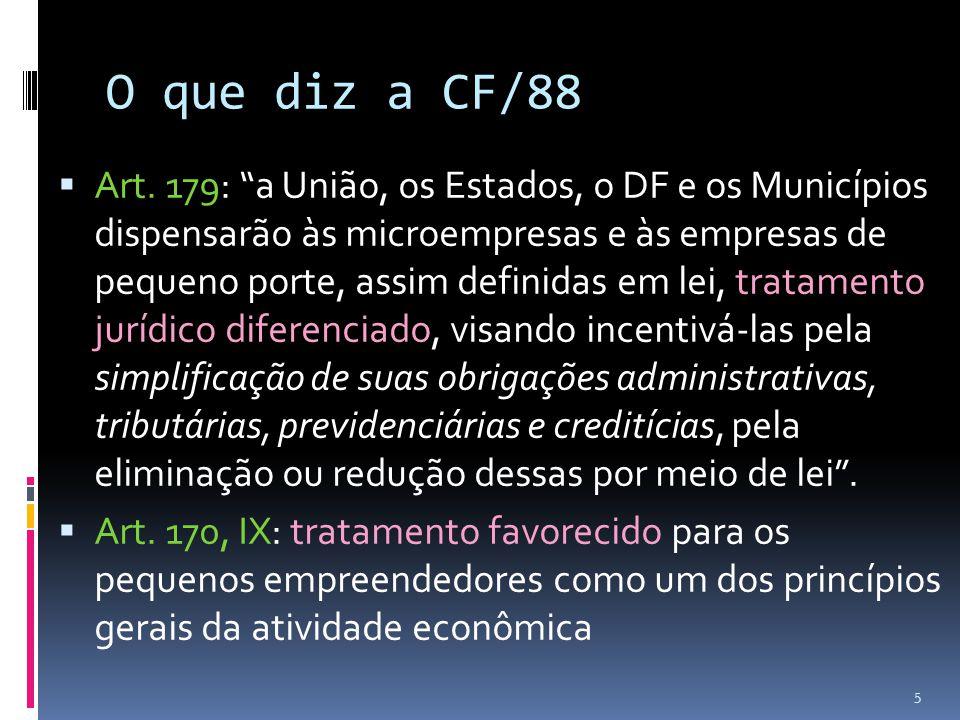 O que diz a CF/88