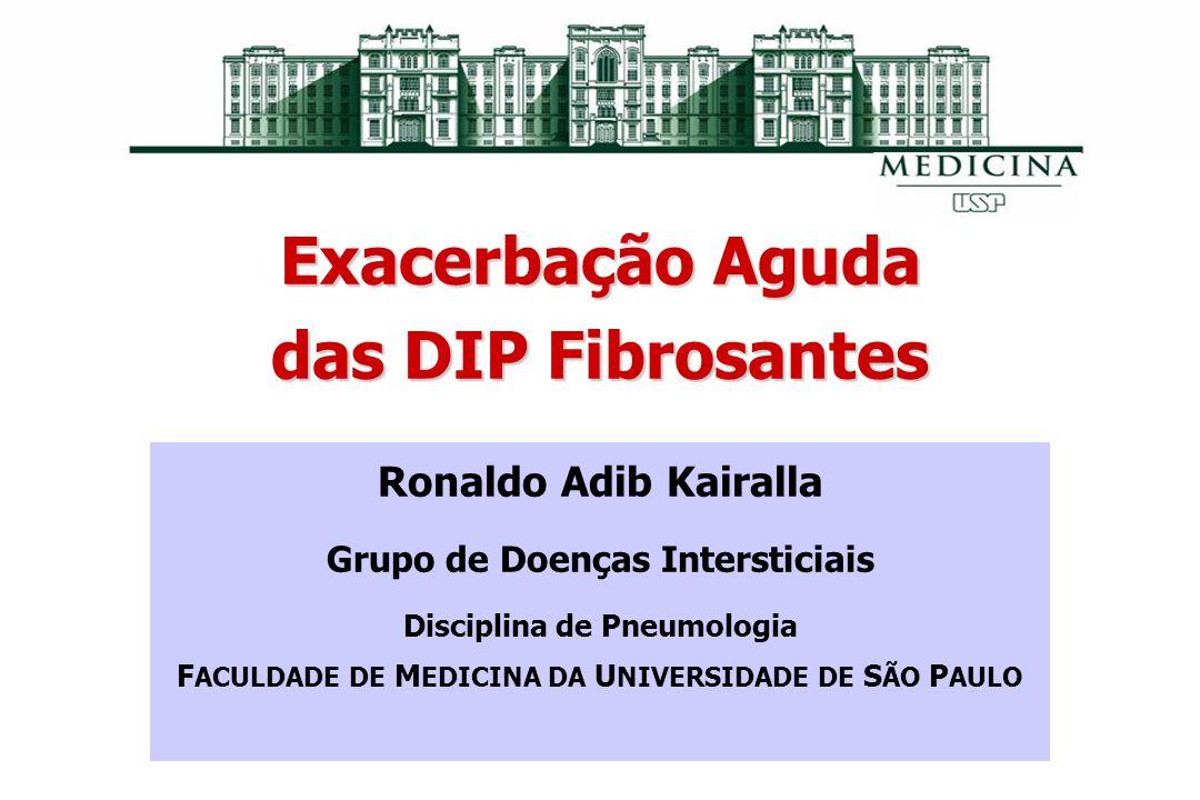 Exacerbação Aguda das DIP Fibrosantes