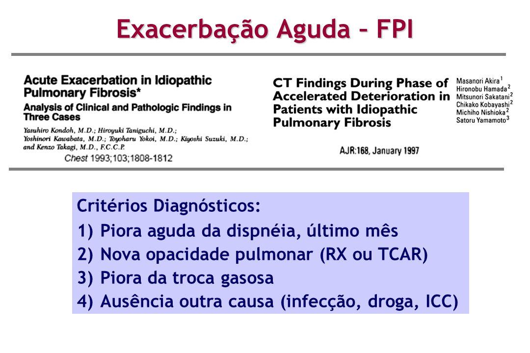 Exacerbação Aguda – FPI