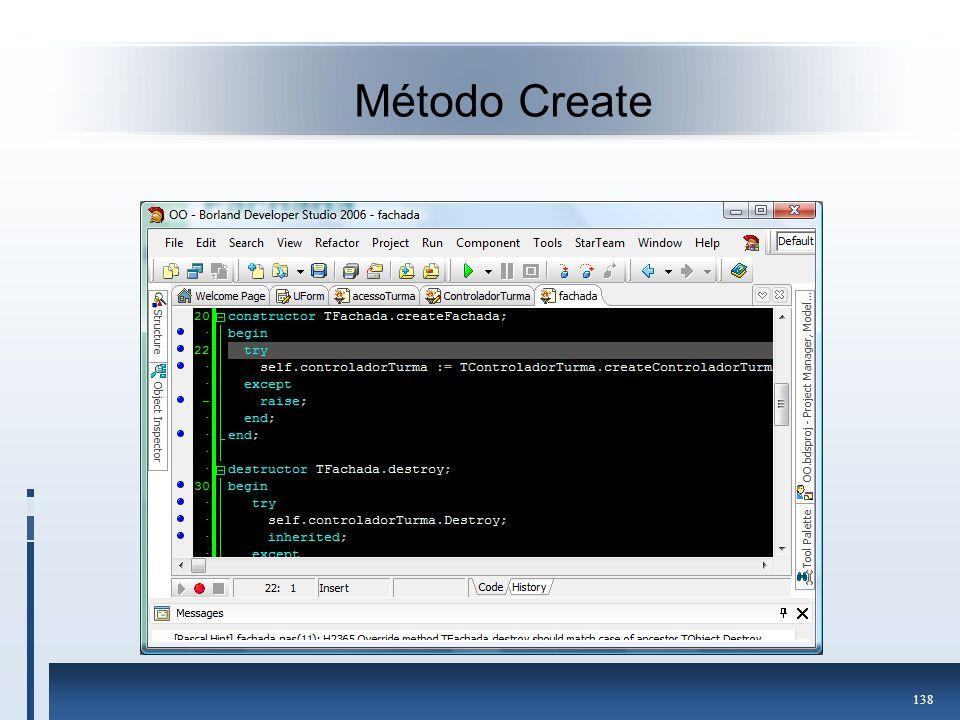 Método Create