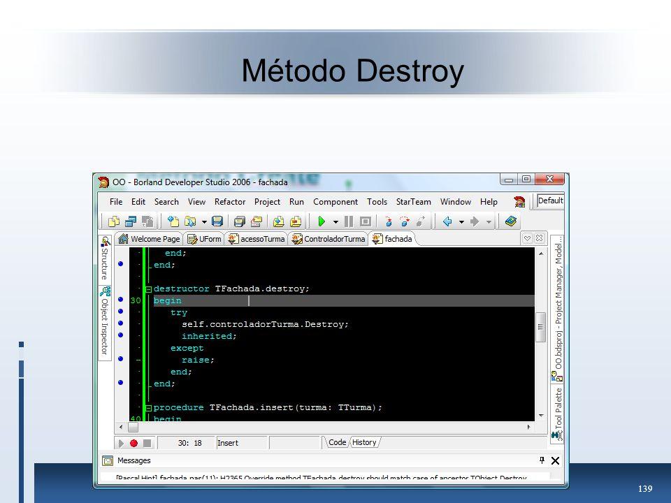 Método Destroy