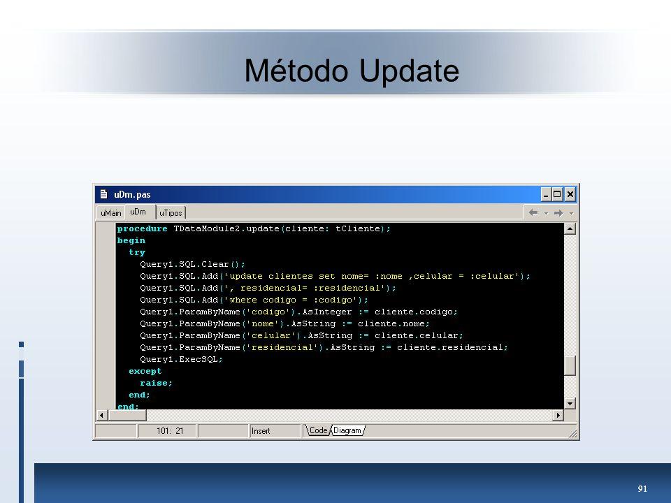 Método Update