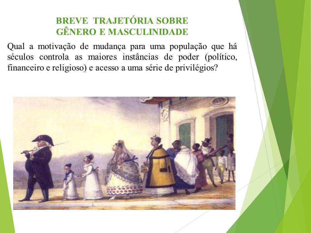 BREVE TRAJETÓRIA SOBRE GÊNERO E MASCULINIDADE