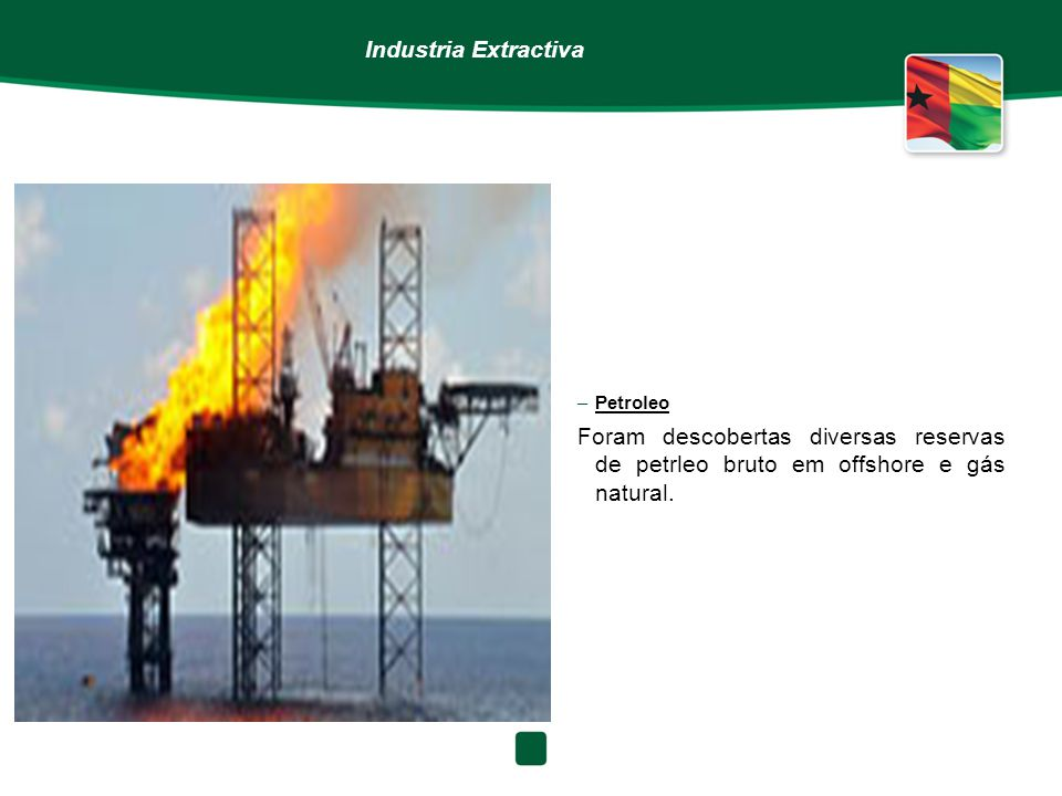 Industria Extractiva Petroleo.