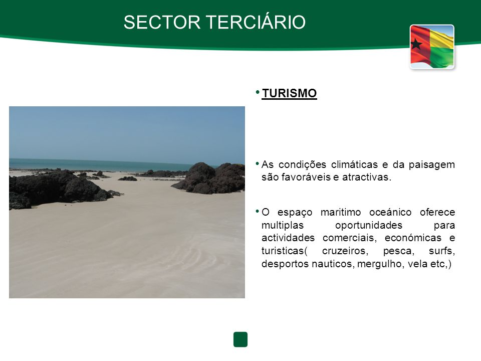 SECTOR TERCIÁRIO TURISMO