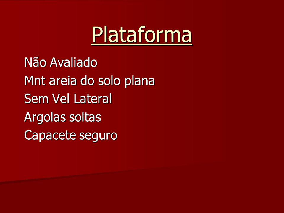 Plataforma Não Avaliado Mnt areia do solo plana Sem Vel Lateral