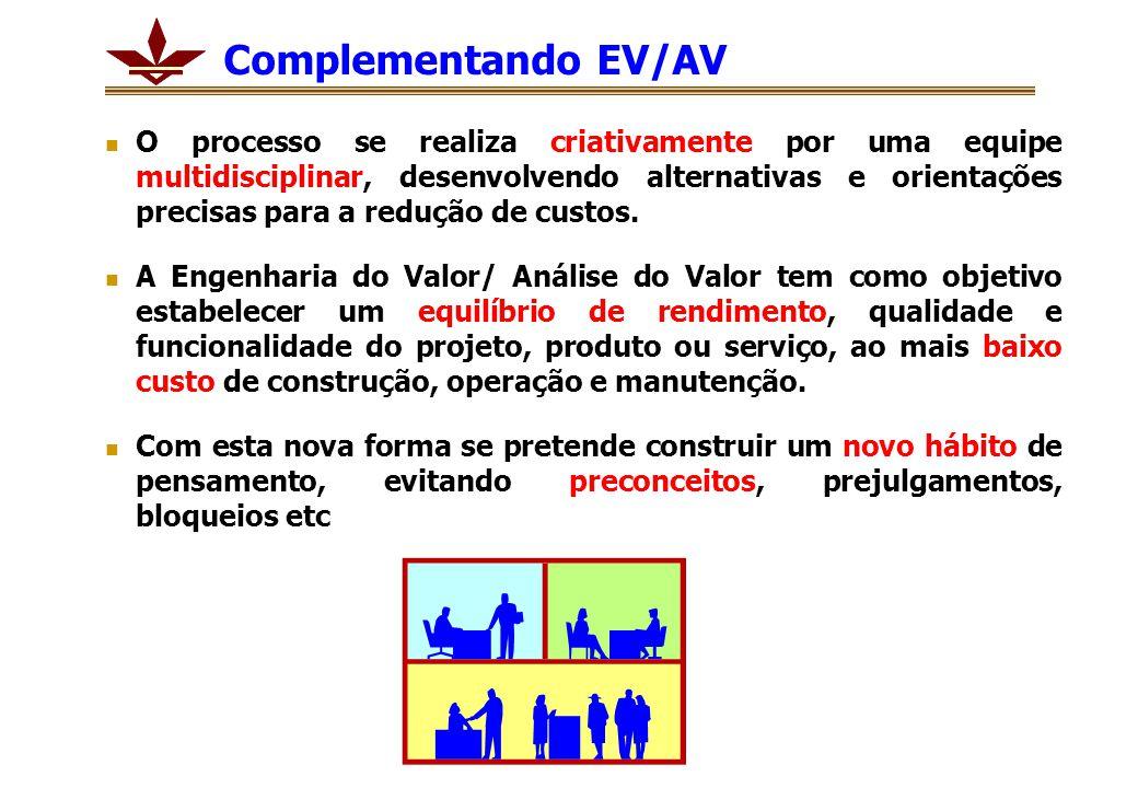 Complementando EV/AV