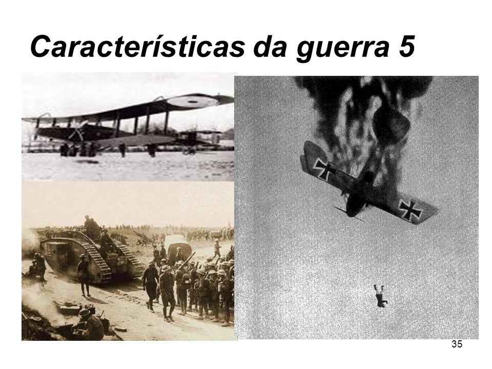 Características da guerra 5