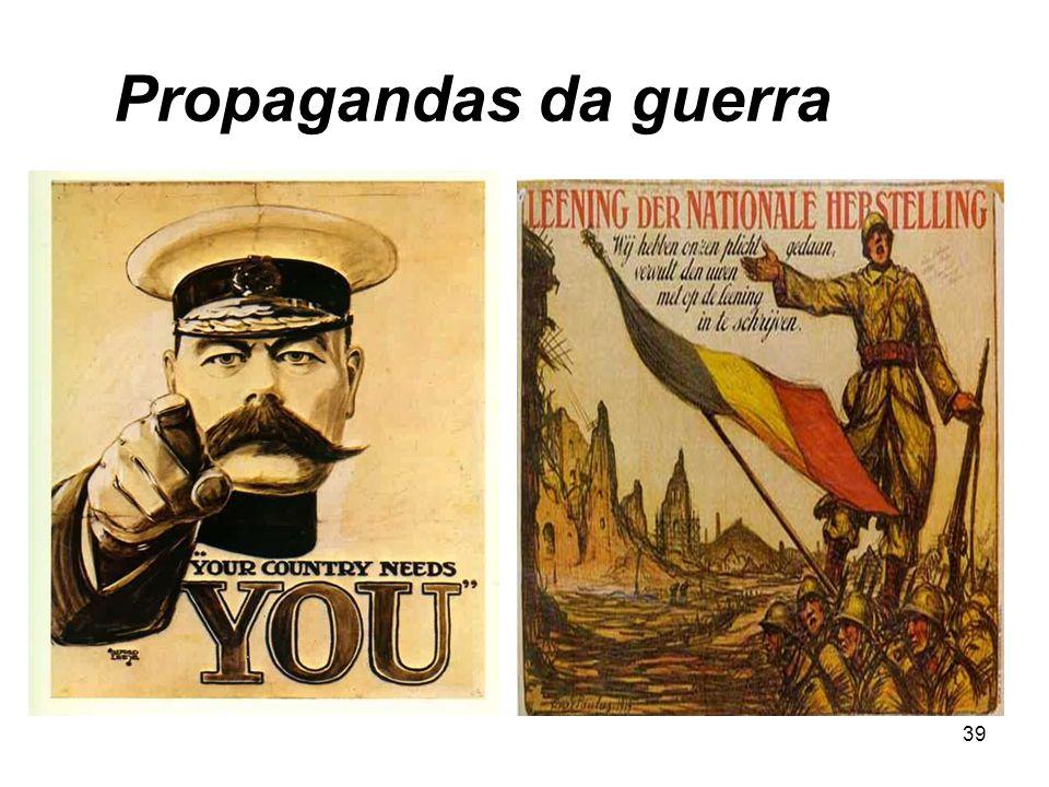 Propagandas da guerra