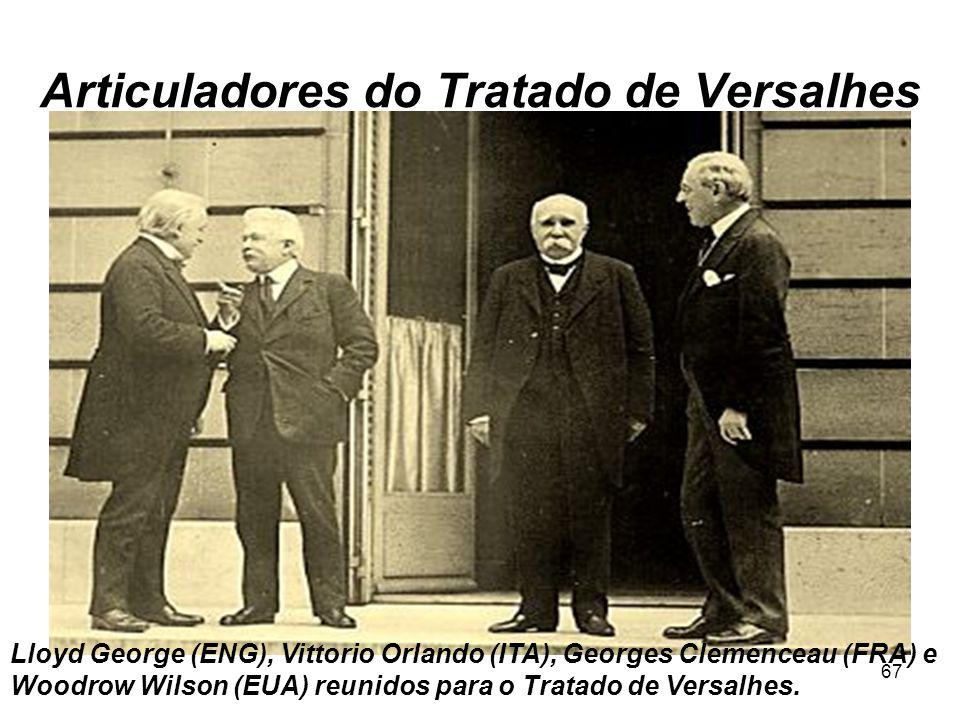Articuladores do Tratado de Versalhes