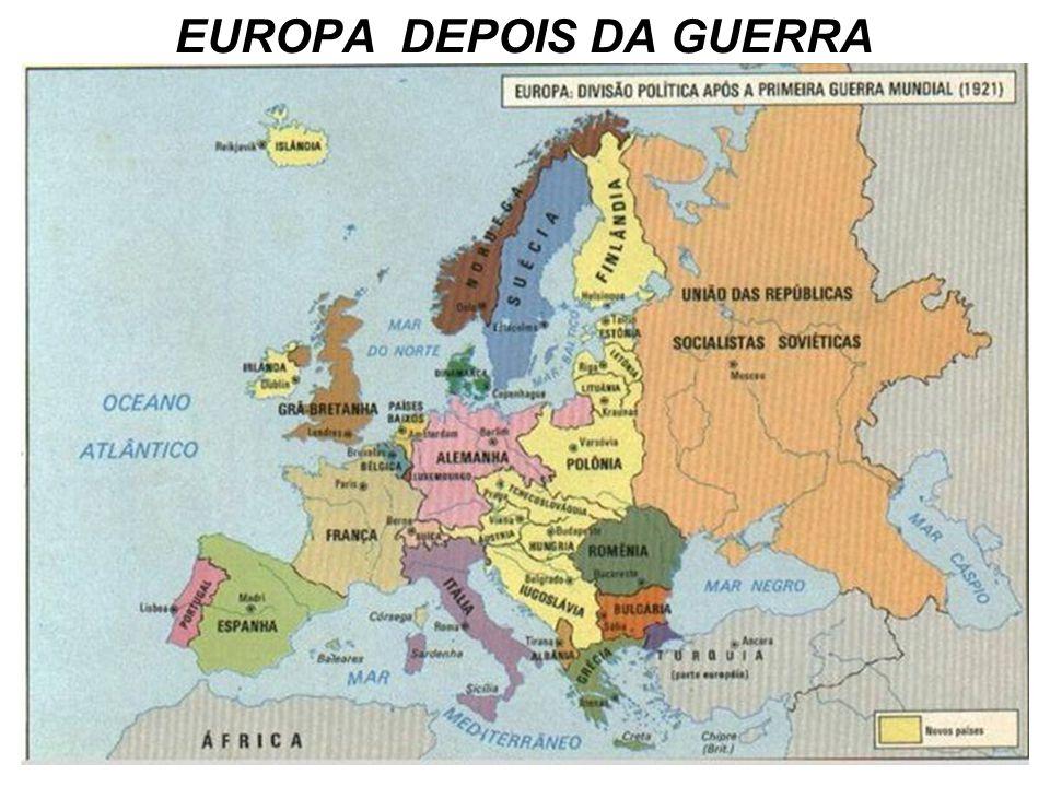 EUROPA DEPOIS DA GUERRA