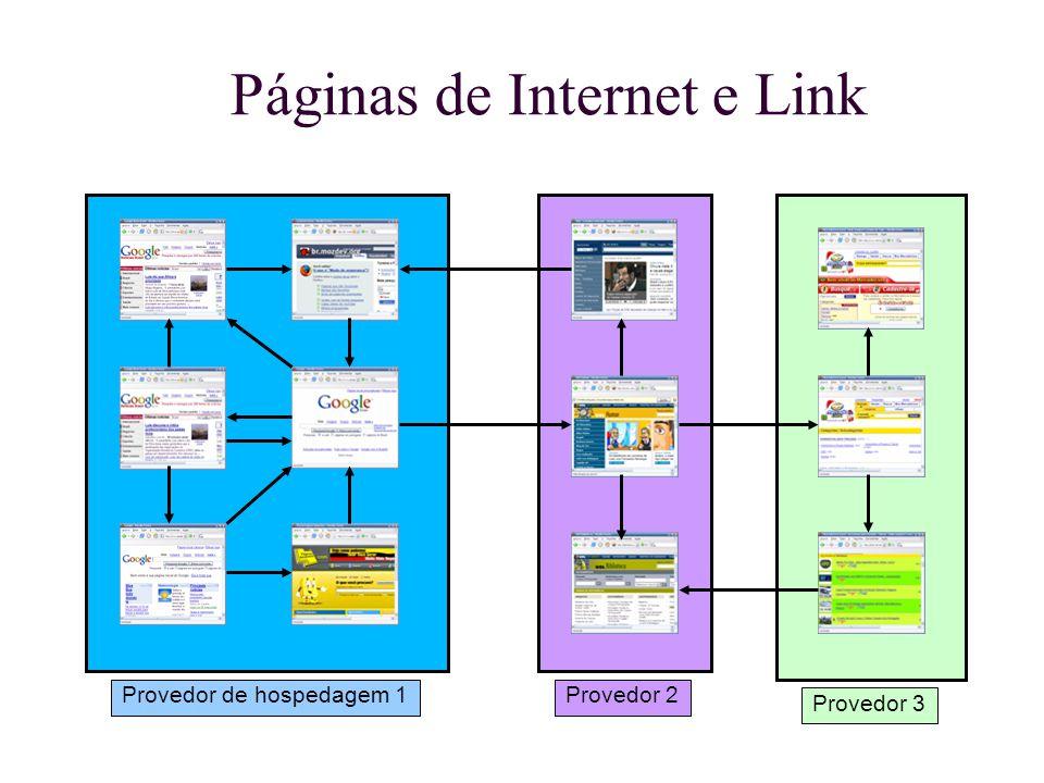 Páginas de Internet e Link