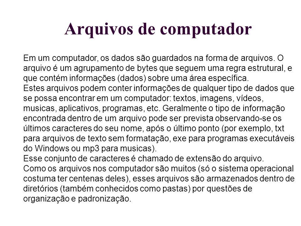Arquivos de computador