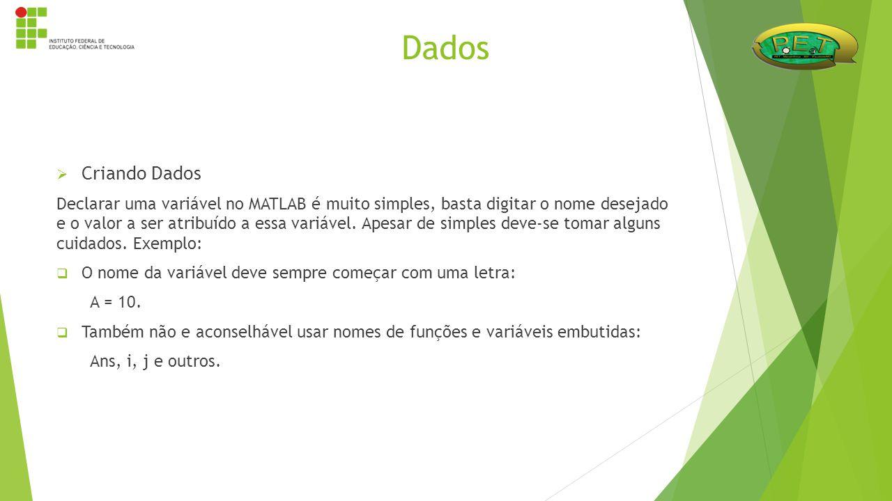 Dados Criando Dados.