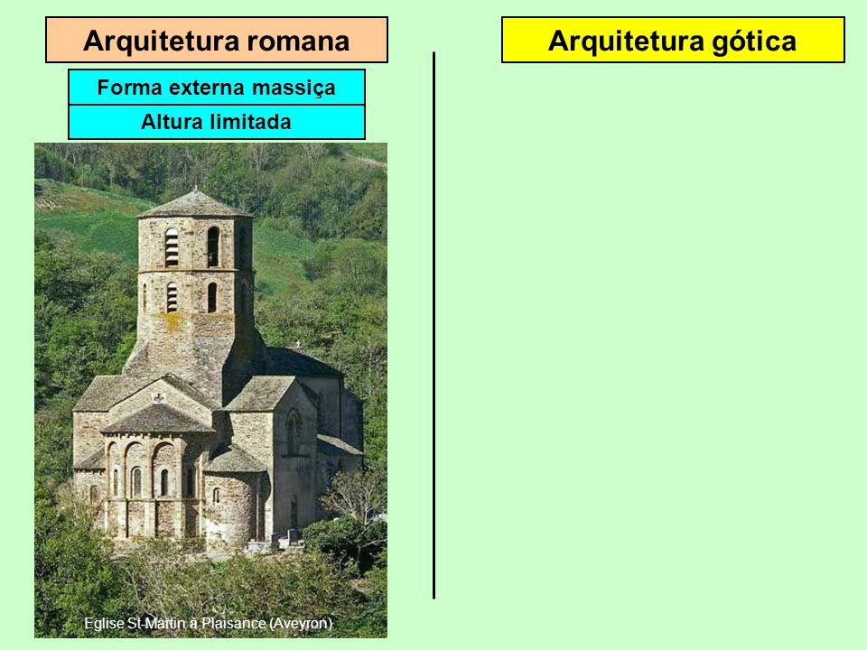 Eglise St-Martin à Plaisance (Aveyron)