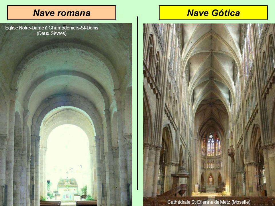 Nave romana Nave Gótica