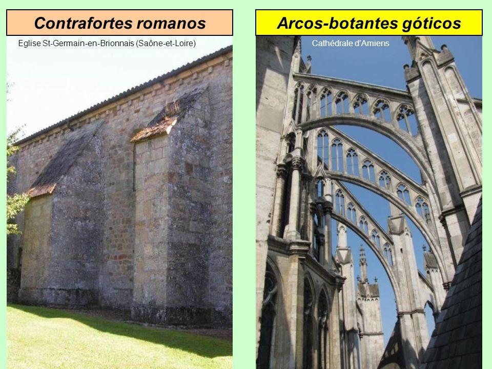 Arcos-botantes góticos