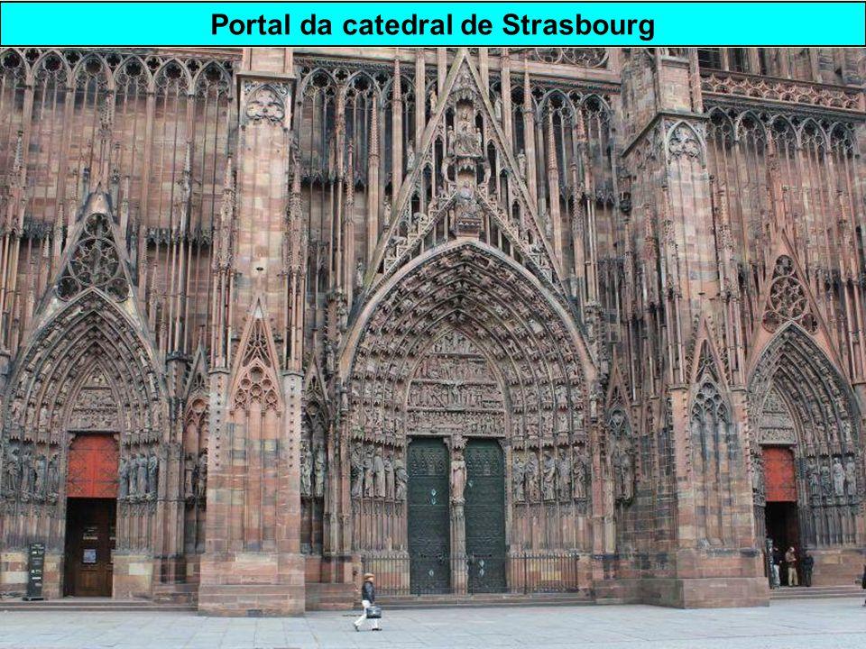 Portal da catedral de Strasbourg