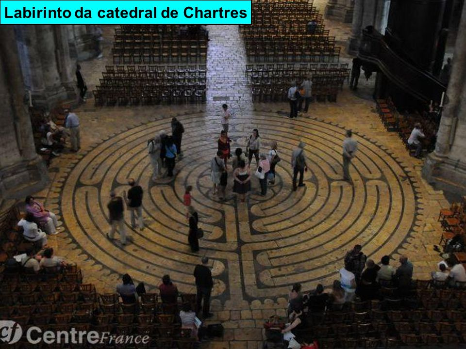 Labirinto da catedral de Chartres