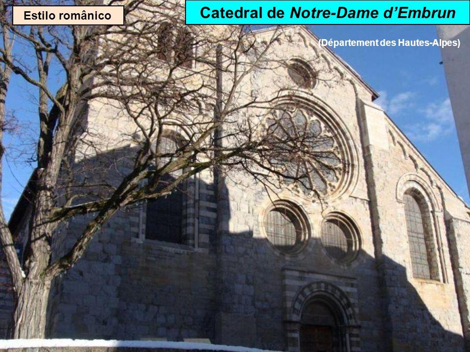 Catedral de Notre-Dame d'Embrun (Département des Hautes-Alpes)