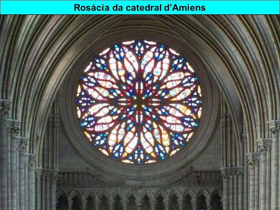 Rosácia da catedral d'Amiens