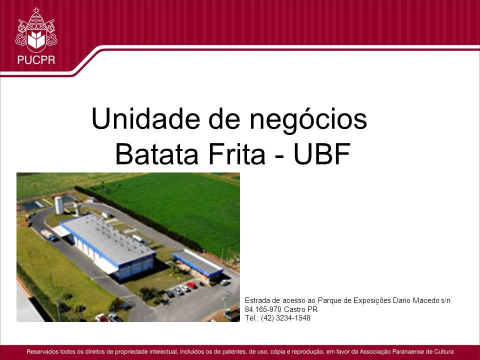 Unidade de negócios Batata Frita - UBF