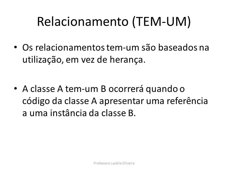 Relacionamento (TEM-UM)