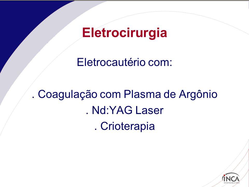 . Coagulação com Plasma de Argônio