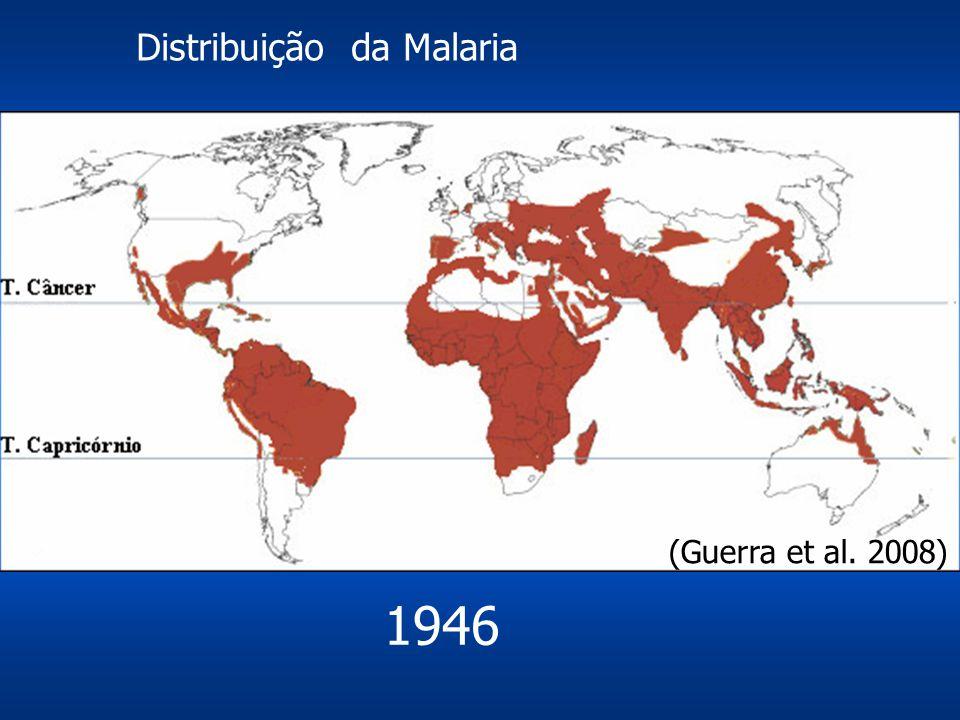 Distribuição da Malaria