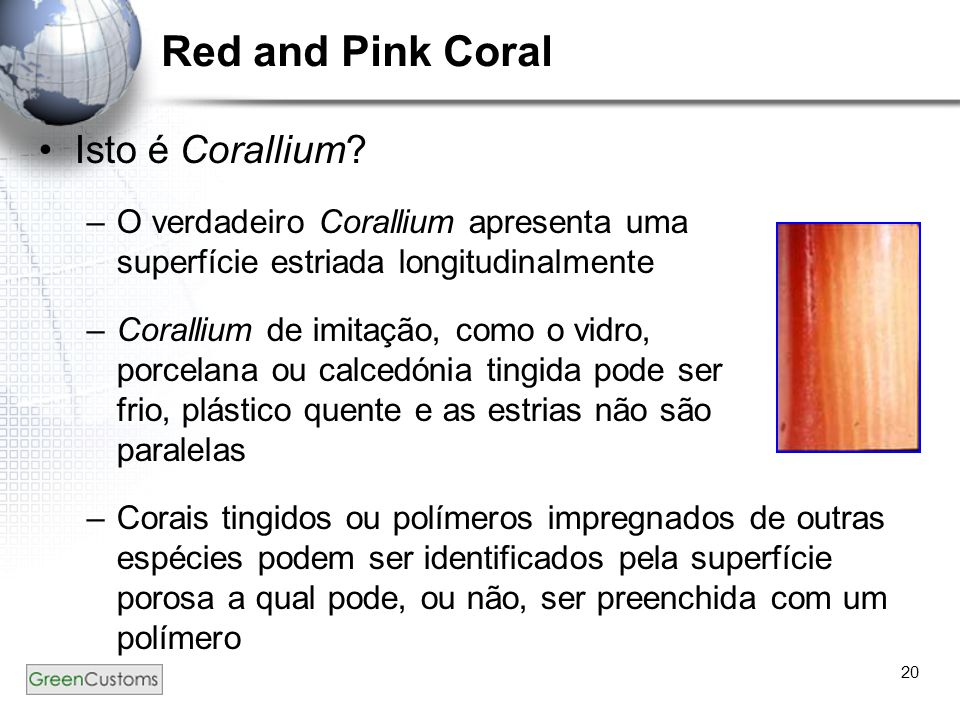 Red and Pink Coral Isto é Corallium