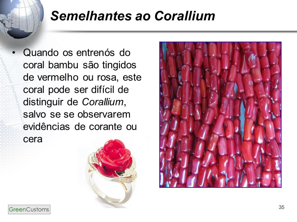 Semelhantes ao Corallium