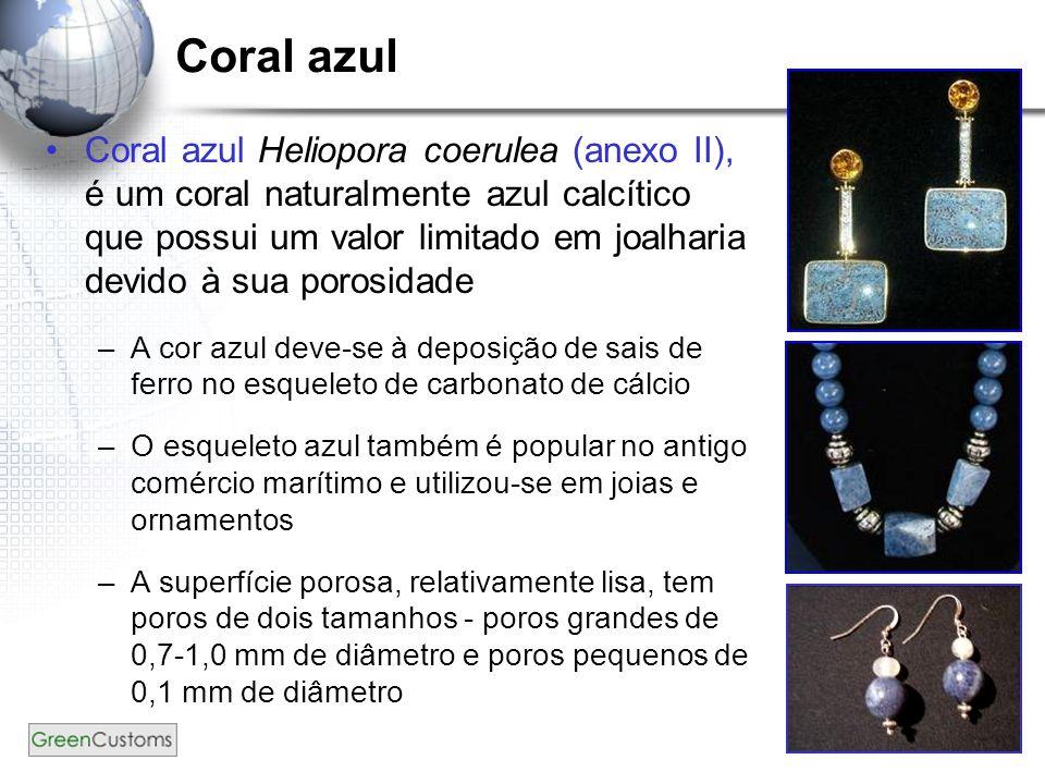 Coral azul