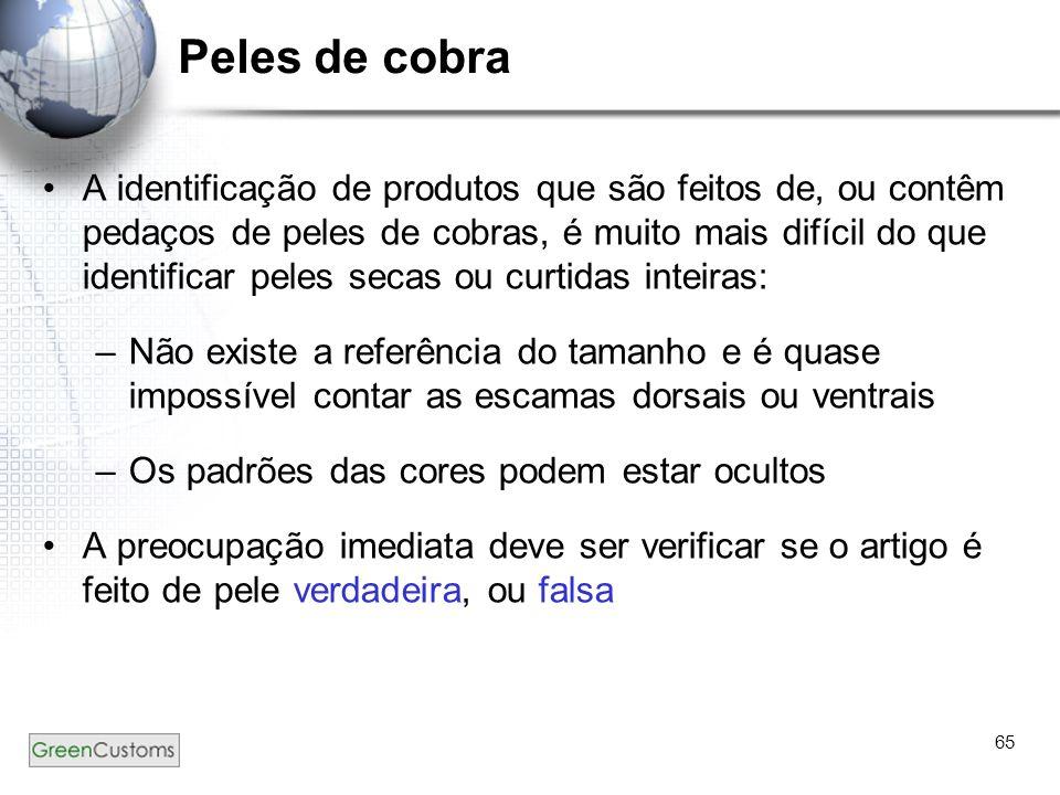 Peles de cobra
