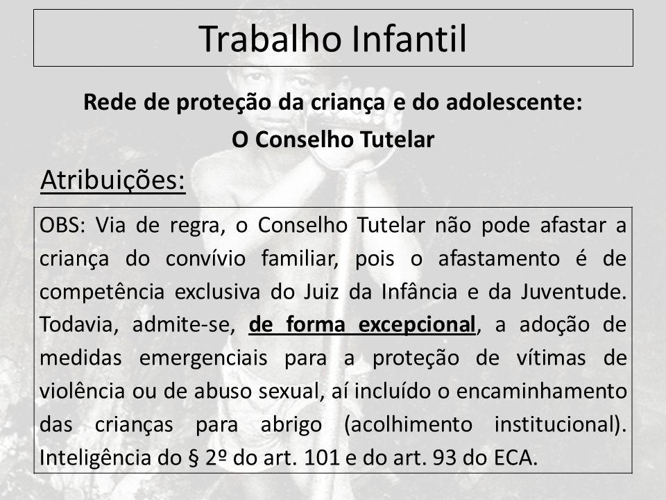 Rede de proteção da criança e do adolescente: