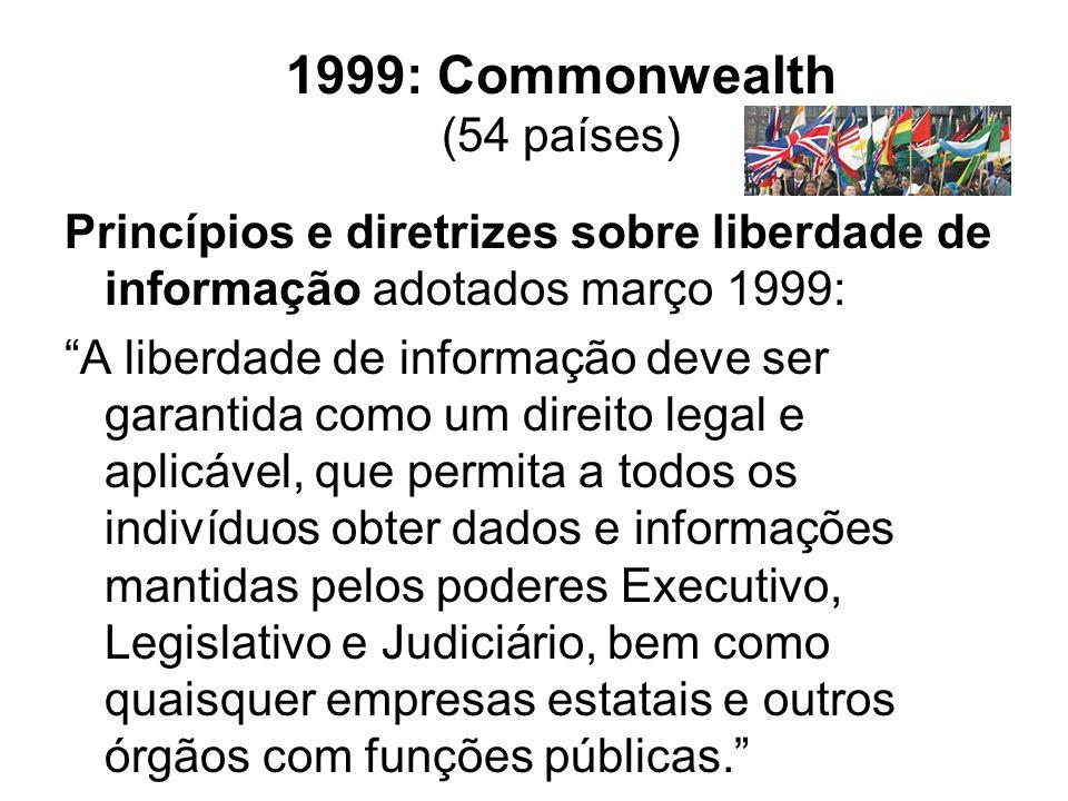 1999: Commonwealth (54 países)