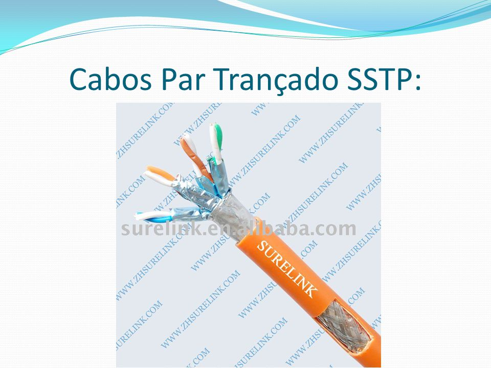 Cabos Par Trançado SSTP: