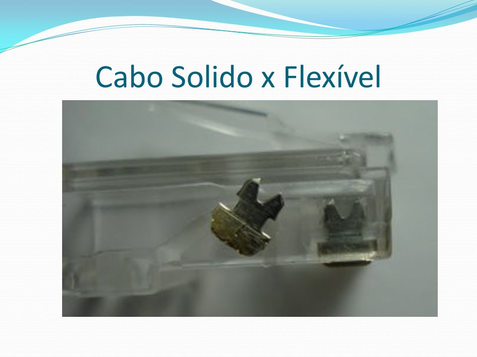 Cabo Solido x Flexível