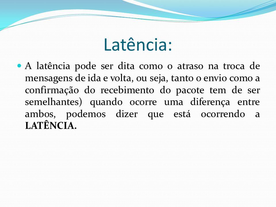 Latência: