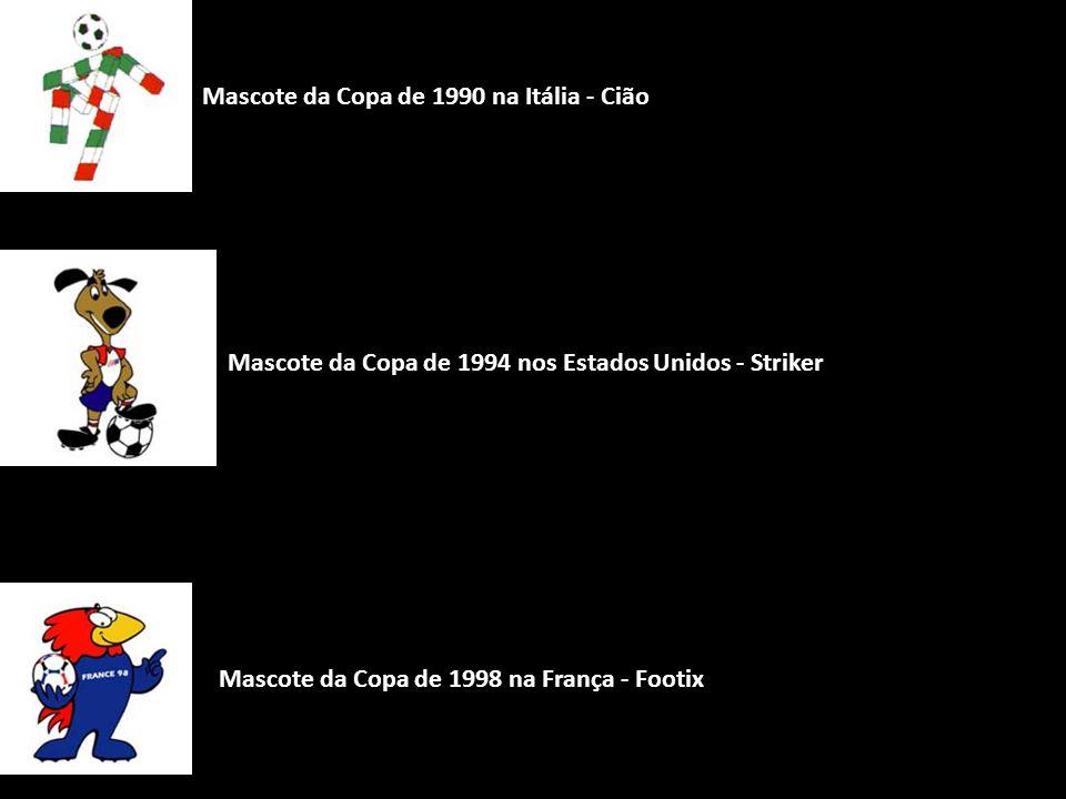 Mascote da Copa de 1990 na Itália - Cião