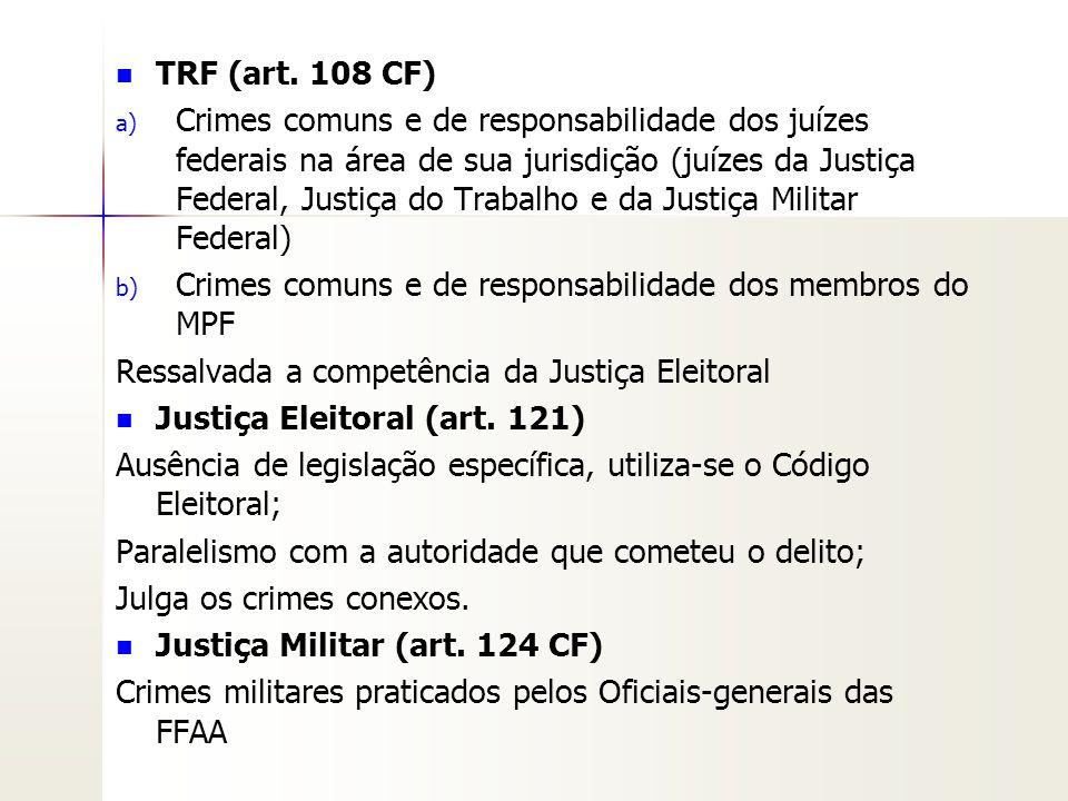 TRF (art. 108 CF)