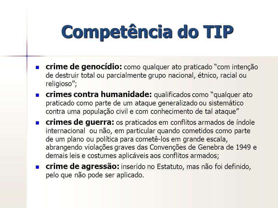 Competência do TIP