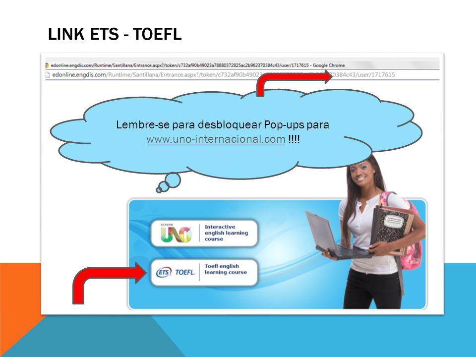 Lembre-se para desbloquear Pop-ups para www.uno-internacional.com !!!!
