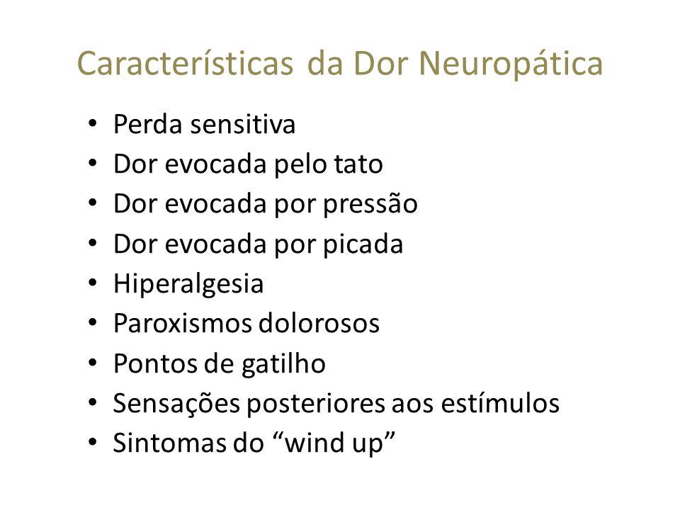 Características da Dor Neuropática