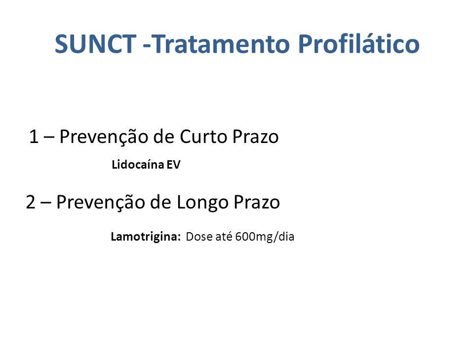 SUNCT -Tratamento Profilático